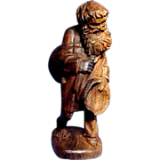 Interesting Wood Carving of an Old Man