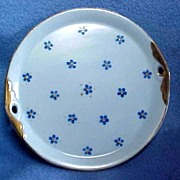 Occupied Japan Miniature Tray or Platter from Doll Teaset