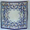Vintage Silk Crepe Handkerchief