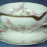 Antique Haviland Limoges Cup and Saucer