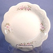 English Butter Pat Dainty Scalloped Shape pre 1925