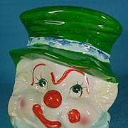 SALE Head Vase Napcoware Japan Hand Painted Clown