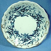 Flow Blue Butter Pat Wedgwood