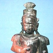 Hand Carved Figure of an Indian Immortal