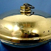 Antique Brass Foot Warmer or Bed Warmer
