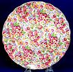 Chintz Serving Plate Apple Blossom Design by James Kent
