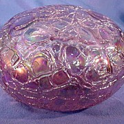 Levay Art Glass Paperweight Iridescent and Gorgeous