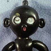 Black Memorabilia Golliwog Crib Toy or Black Doll