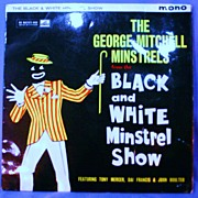 The Black and White Minstrel Show 33 1/3 LP with Great Cover