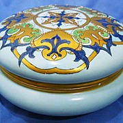 Antique Limoges Large Powder Bowl 1902