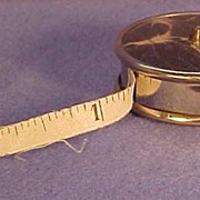 Retractable Tape Measure From Germany 1879