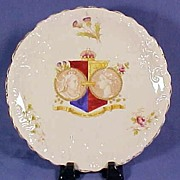 Antique Queen Victoria Diamond Jubilee Commemorative Plate