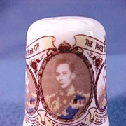 British Royal Commemorative Thimble,The Year of the Three Kings