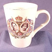 British Royal Commemorative Mug, Coronation of George 6th