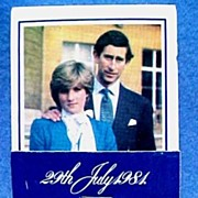SALE British Royal Commemorative for Wedding of Prince Charles & Lady Diana