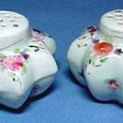 Victorian Porcelain Hand Painted Shakers