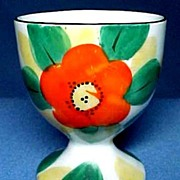 Vintage Hand Painted Fine China Egg Cup