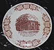 Flatbush Trust Company Calendar Plate 1911 Brooklyn, NY