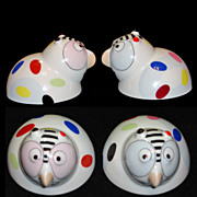 Villeroy and Boch Animal Park Salt & Pepper Shakers
