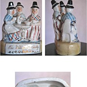 The Welsh Tea party: Staffordshire potery of 19th century