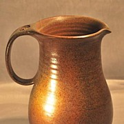 Beautiful jug out of sandstone of Vallauris of the creator Voldemar Volkoff