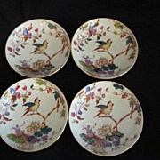 Set of four Davenport Bowls--Nile Pattern Aesthetic Movement