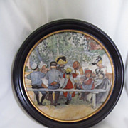 Royal Copenhagen Framed Collectible Plaque--Carl Larssen