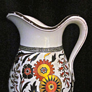 1879 Minton Pitcher, Turkestan Pattern