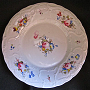 19th-Century French Paris Porcelain Dish