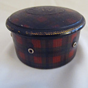 Tartan Ware Spool Holder Guide - Clark's O.N.T. Advertisement