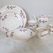 7 Pieces of Vintage Steubenville China