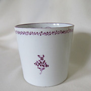 C. 1800-1810 English Porcelain Coffee Can Cup