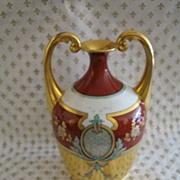 ON SALE NOW!! Absolutely Stunning Porcelain Urn with Gold Gilt