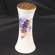 SALE Mint Bavarian Porcelain Signed Hatpin Holder