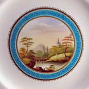 SALE Porcelain Hand Painted Plate