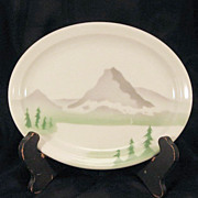 Great Northern Railroad Serving Plate