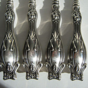 Art Nouveau Sterling Silver Manicure Set