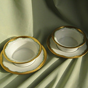 SALE Elegant Porcelain Finger Bowls  **  Germany