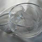 SALE Tiffany & Co. Crystal Bowl