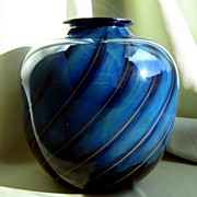 SALE Hand Blown Art Glass