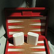 SALE Traveling Backgammon Game -  Crisloid