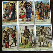 SALE Liebeg - Dutch Ethnic Trade Cards