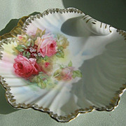 SALE Prussia Porcelain Ring Dish