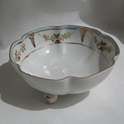 Nippon Porcelain Footed Bowl
