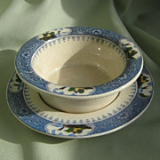 SALE Mintons Finger Bowl Transferware * England