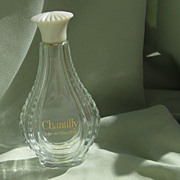 "SALE Large  ""Chantilly"" Perfume Bottle by Houbigant"