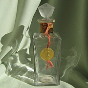 SALE 1910 French &quot;Mary Garden&quot; Perfume Bottle  by Rigaud