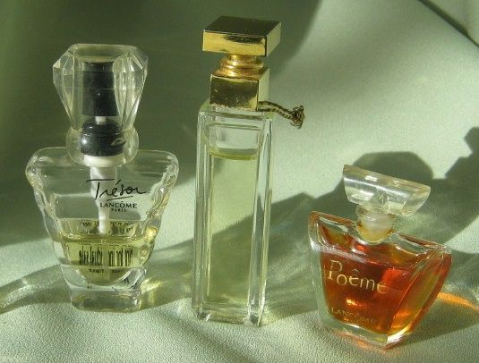 "Miniature Perfume Trio of ""Tresor, Poeme & Fifth Avenue"""