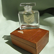 "SALE Vintage ""Intermezzo"" Perfume Bottle in Presentation Box"