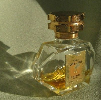 "Miniature Perfume ""Crepe de Chine"" France"